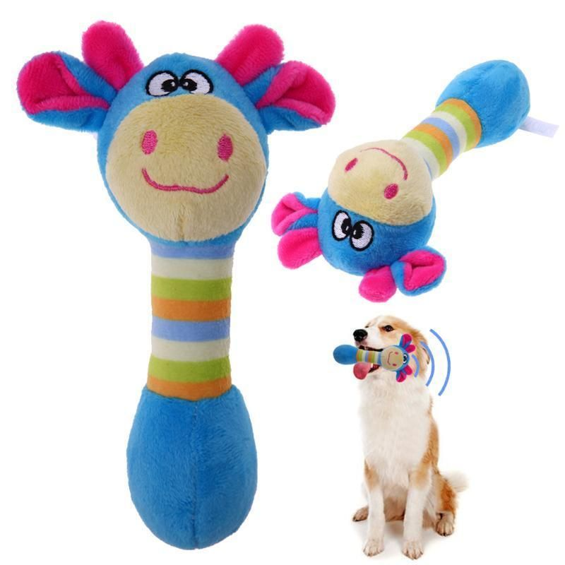 Plush Dog Toys Squeakers Cute Dog Toys Toy Puppies Pet Toys