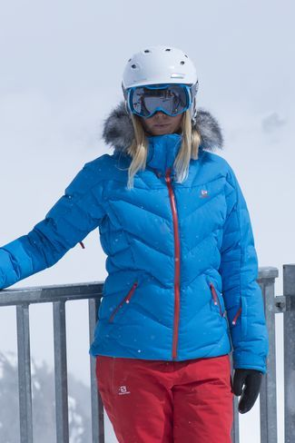 Salomon Womens Icetown Jacket Methyl Blue | Gear | Womens