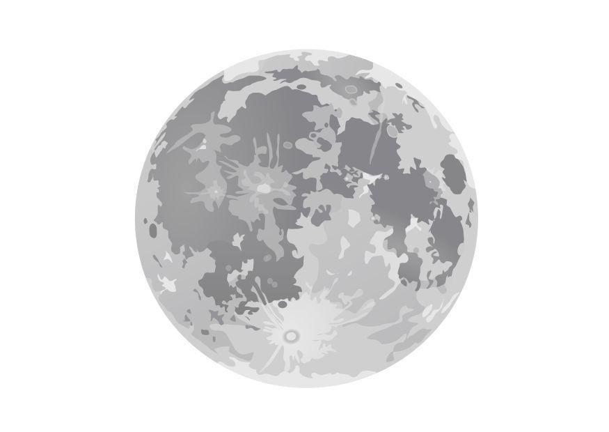 Dibujar La Luna Llena Buscar Con Google Luna Llena Luna Decoracion Infantil