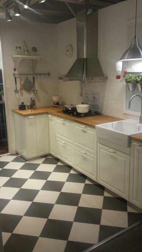 Metod Bodbyn Kitchen White IKEA Groningen | Küche | Pinterest ...