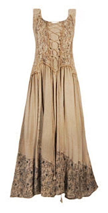 Kleid Im Landhausstil langes kleid im landhausstil 100 naturfaser viskose in 5