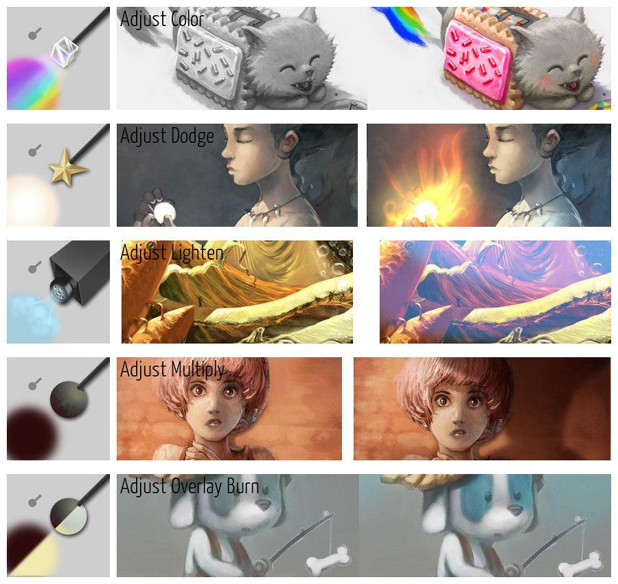 Krita 4 preset bundle overview krita manual version 42