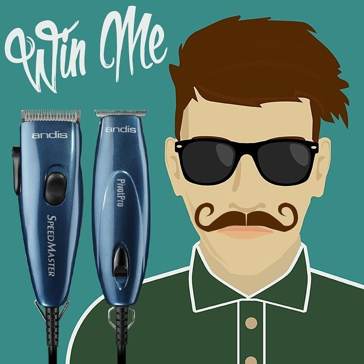 #MCM to the ever-classic hipster-loved Handlebar moustache.  Comment and tell us your favorite #Movember moustache for a chance to win the #Andis Pivot Motor Combo! bit.ly/PivotBlue  Check back Friday 11/20/15 to see if you've won. (Winner selected at random. Offer has no cash value. Must be 18 or older to win and be a resident of the United States. One winner per household per calendar year. In the event of winner ineligibility an alternate winner will be named.)