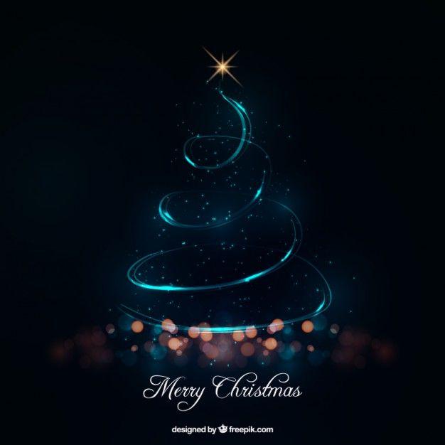 Abstract Christmas Tree Made Of Lights F Free Vector Freepik Freevector Christmas C Merry Christmas Images Merry Christmas Wallpaper Christmas Vectors