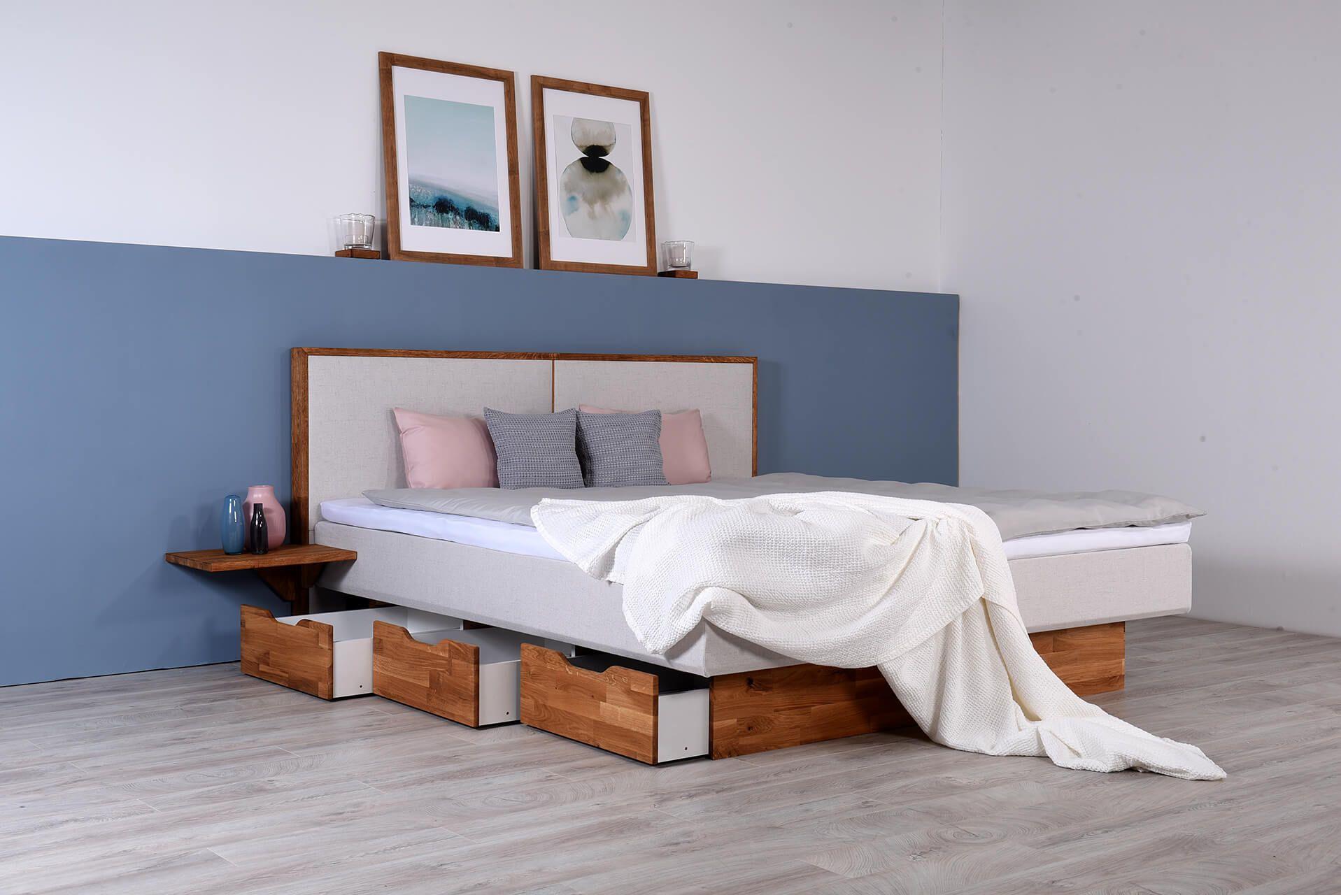Wasserbett Mit Schubkasten Topper Nachttischablage