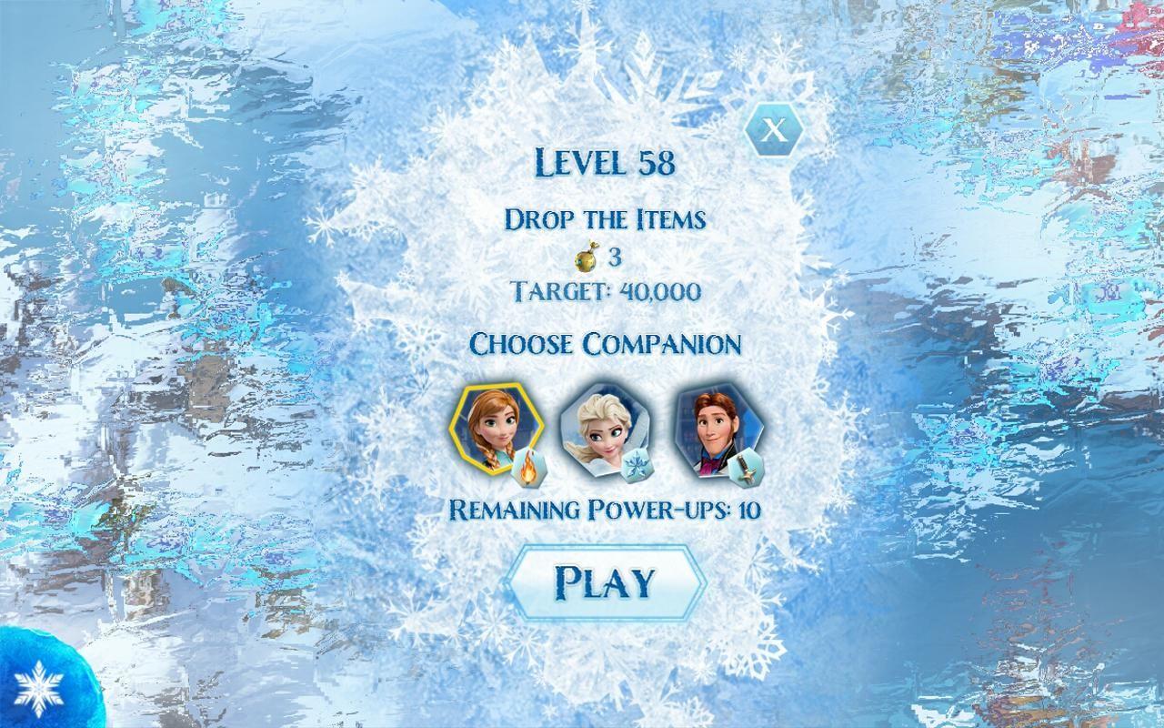 frozen free fall โฟรเซ่นราชินีหิมะ Frozen Free Fall