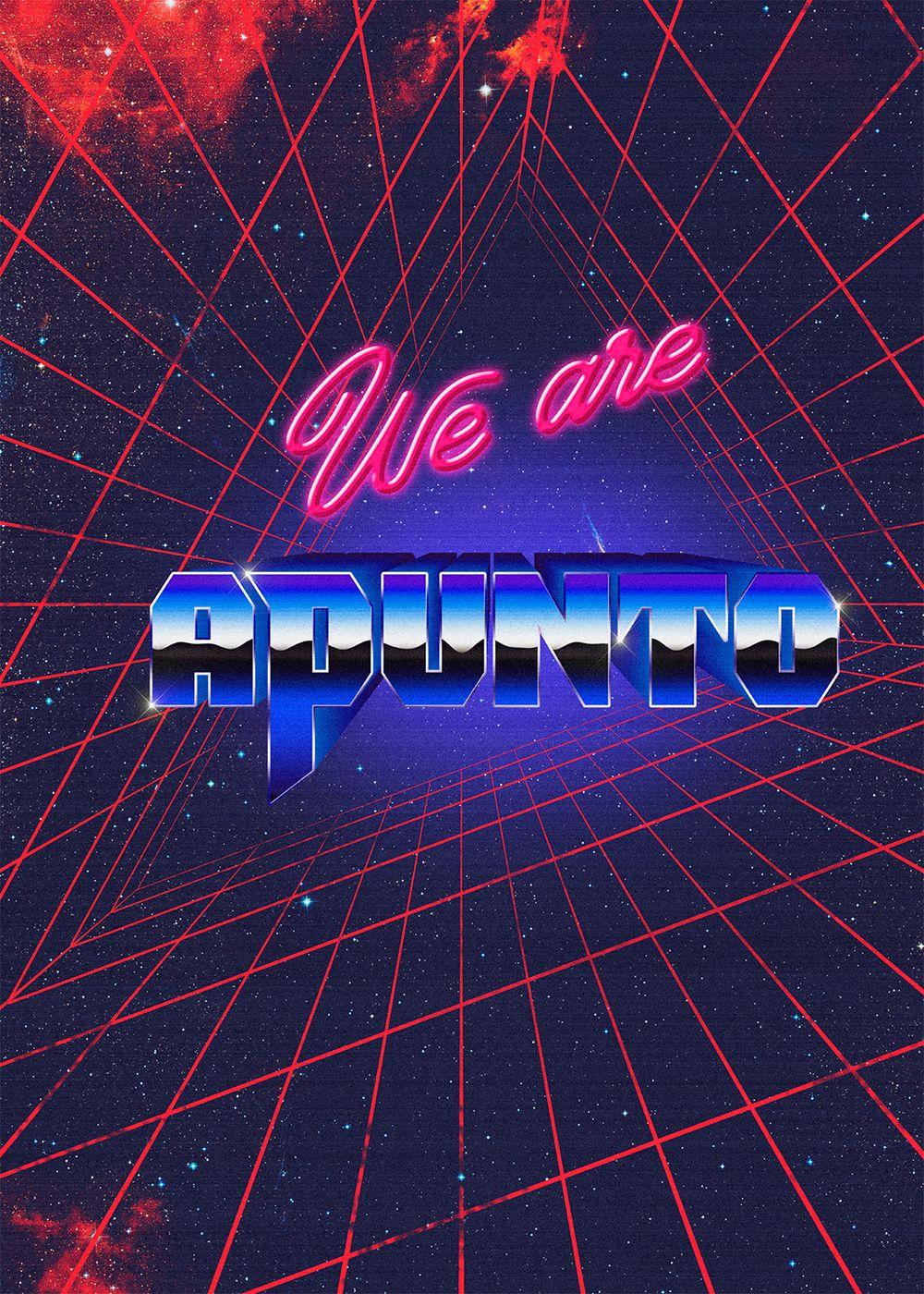 """다음 @Behance 프로젝트 확인: """"We are apunto"""" https://www.behance.net/gallery/30846549/We-are-apunto"""