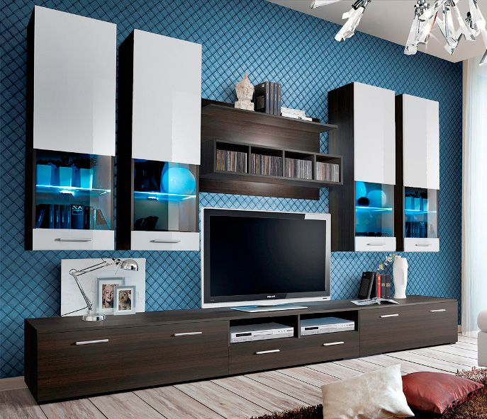Montreal 4 | Modern wall units, Living room wall units and Modern wall