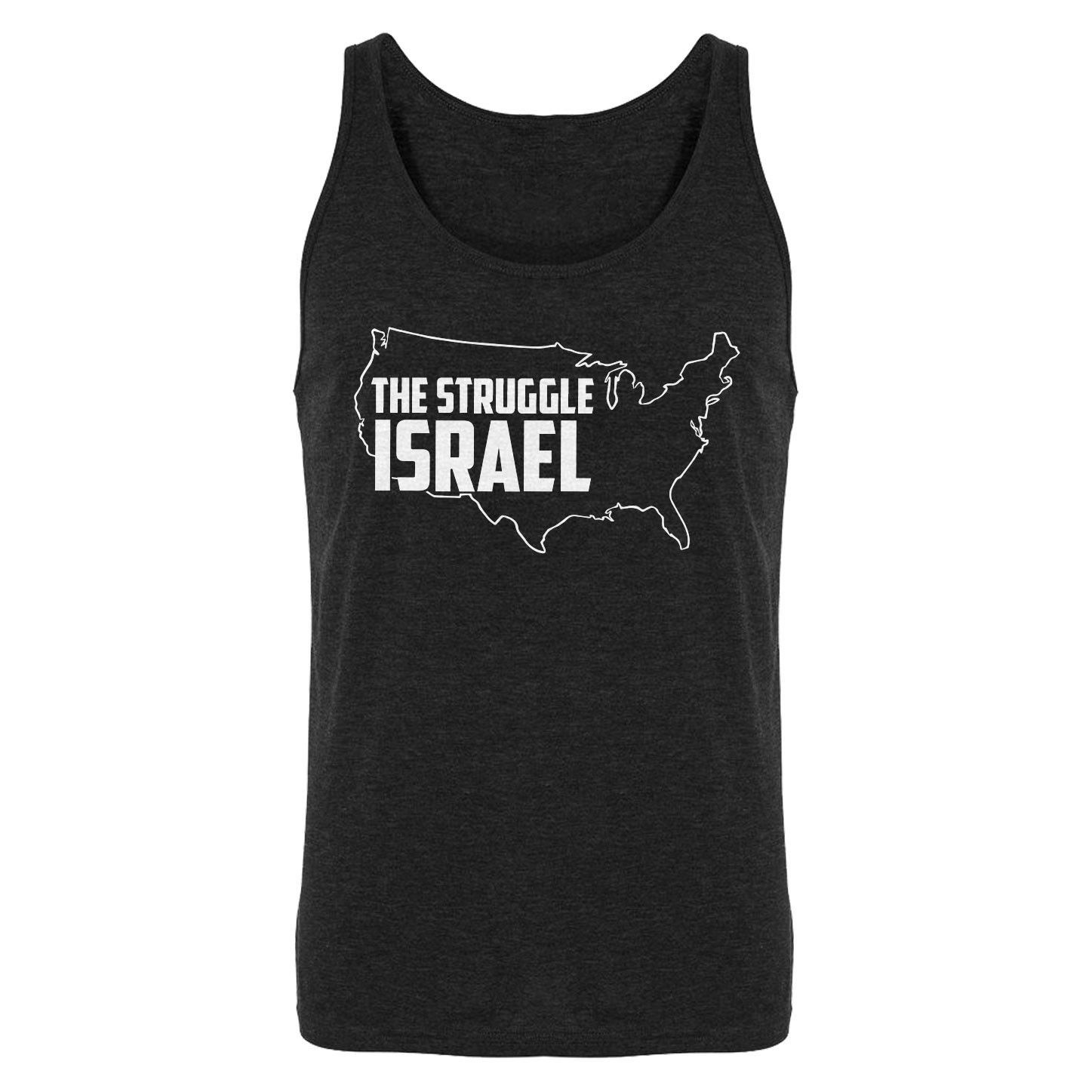 The Struggle Israel Mens Sleeveless Tank Top