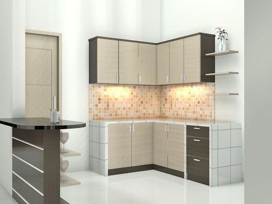 Harga \ 70 Model Gambar Kitchen Set Minimalis Desainrumahnya - plexiglas für küchenrückwand