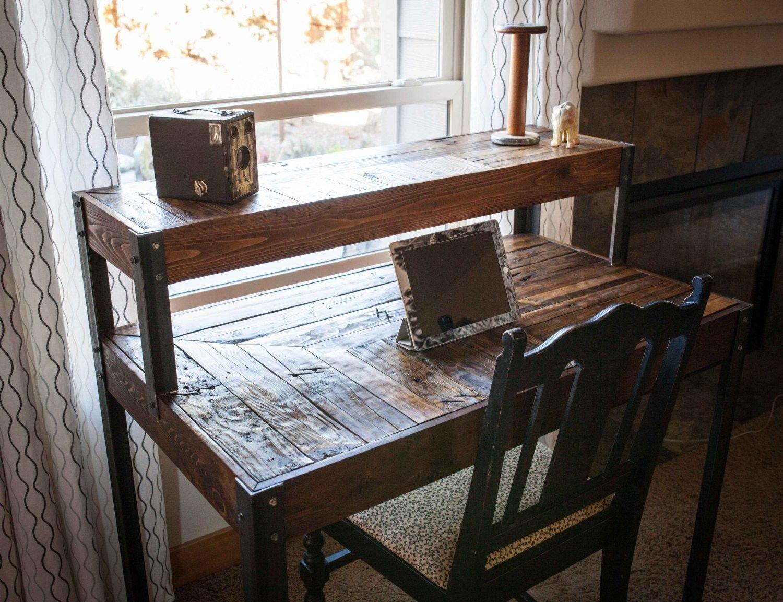 Pin by le paradis du bois on bureau en bois bureau bois bois