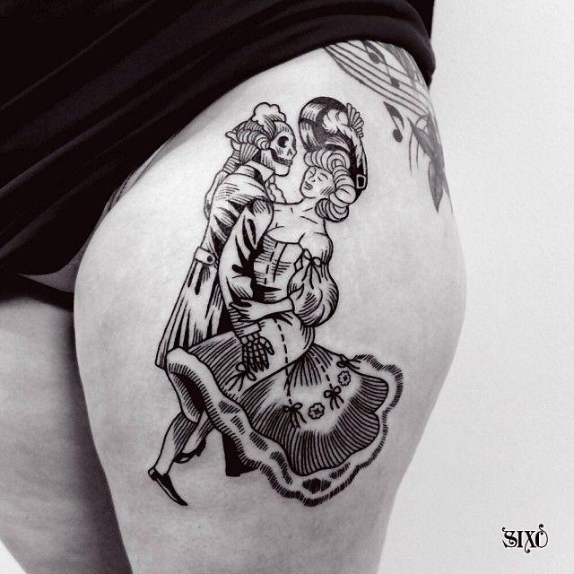 Sixo Tattoo Tatouage Thetattooedlady Montreuil Paris