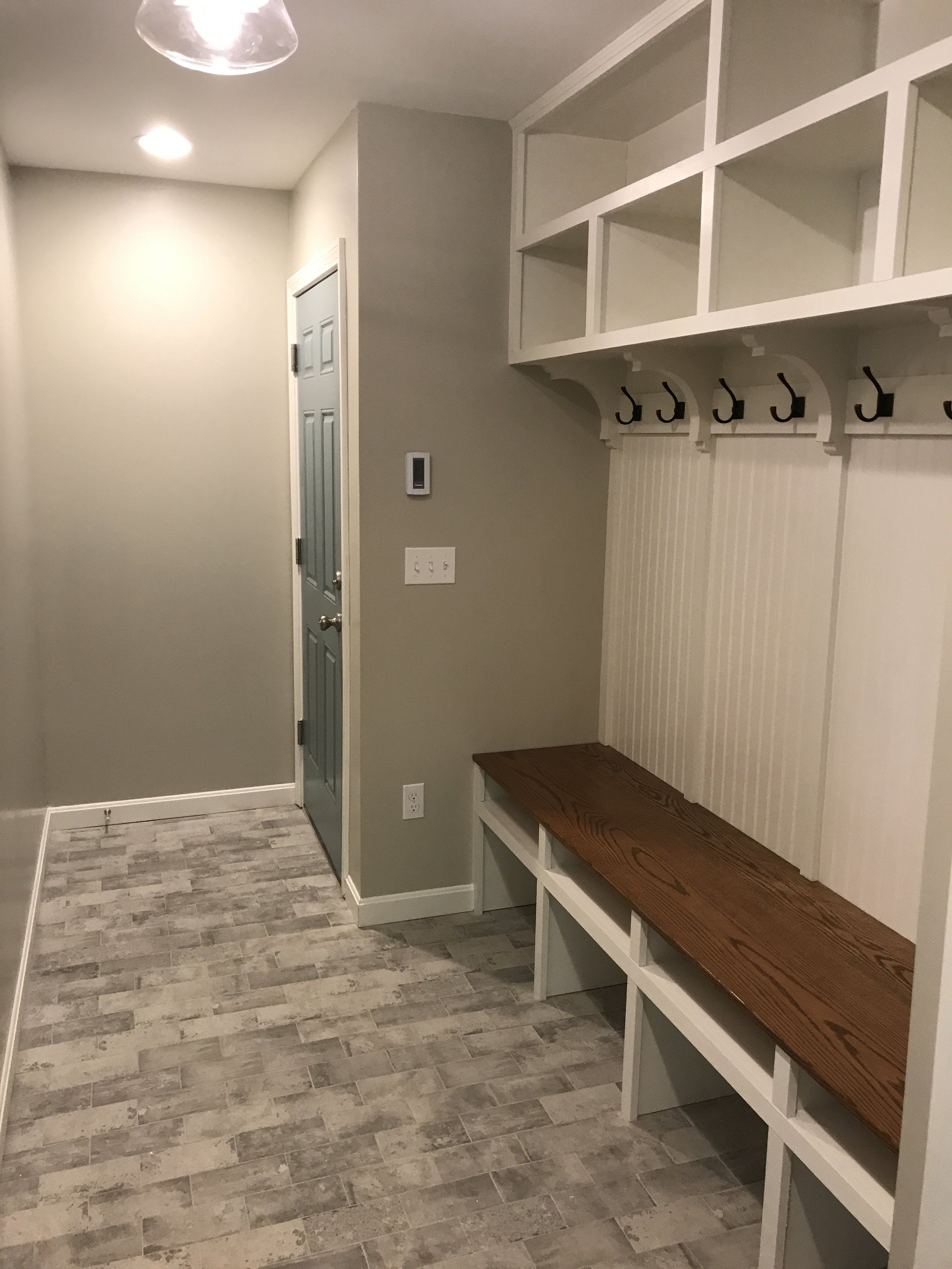 Before And After Mudroom Transformation Mudroom Remodel House