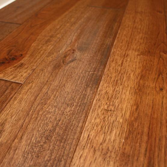 Hickory Wild 3 4 X 5 Hand Scraped Solid Hardwood Flooring Solid
