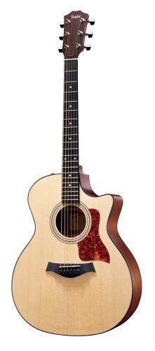 Taylor 314ce Grand Auditorium Acoustic Electric Guitar.