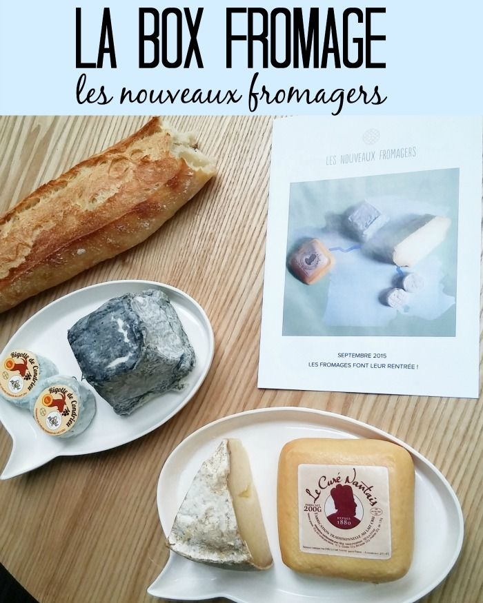 Une Box Fromage !! Miam