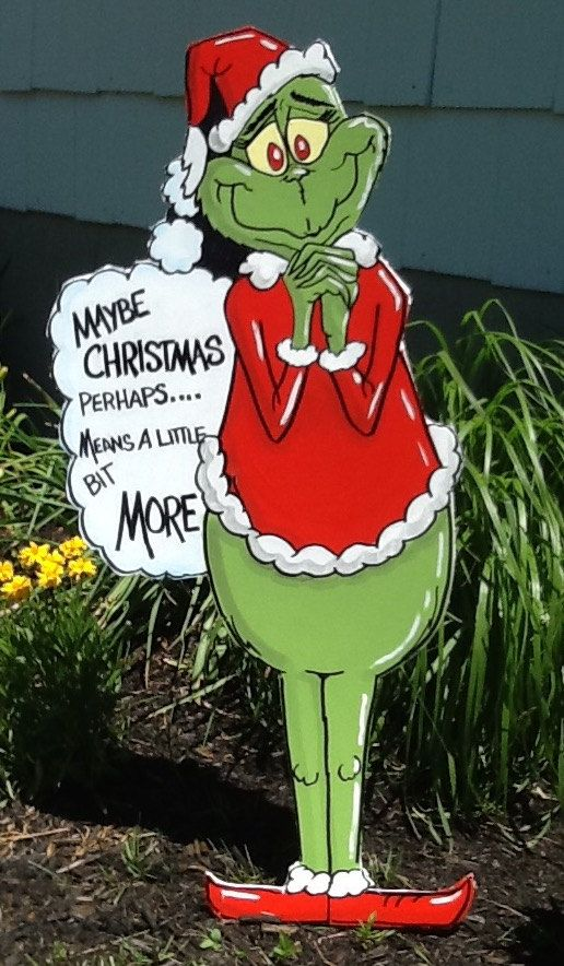 The Grinch Yard Art And Outdoor Decorations