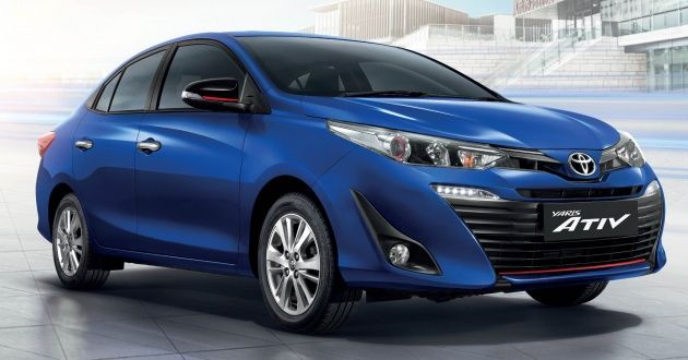 New Toyota Yaris Ativ Launched In Thailand 1 2l 7 Airbags Standard Priced From 469k Baht Rm60k Yaris Sedan Cars Sedan
