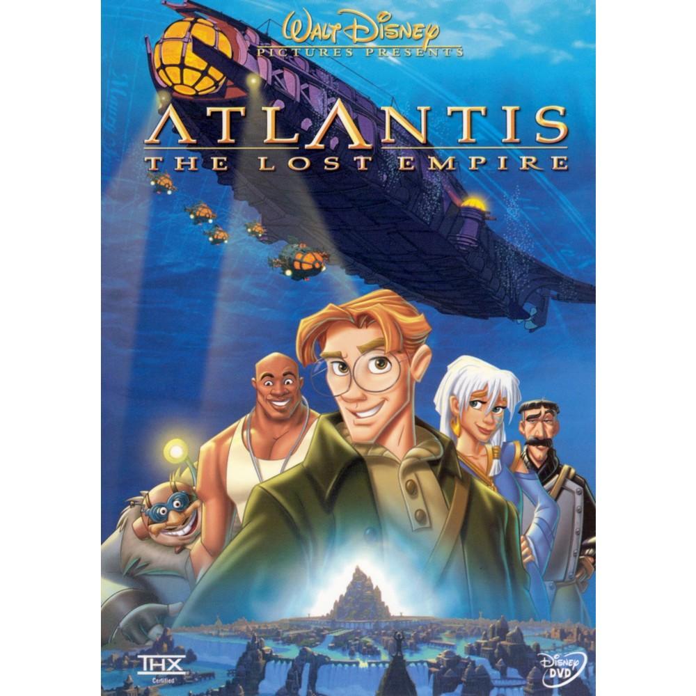 Atlantis The Lost Empire Dvd Video Mega Filmes Online Disney