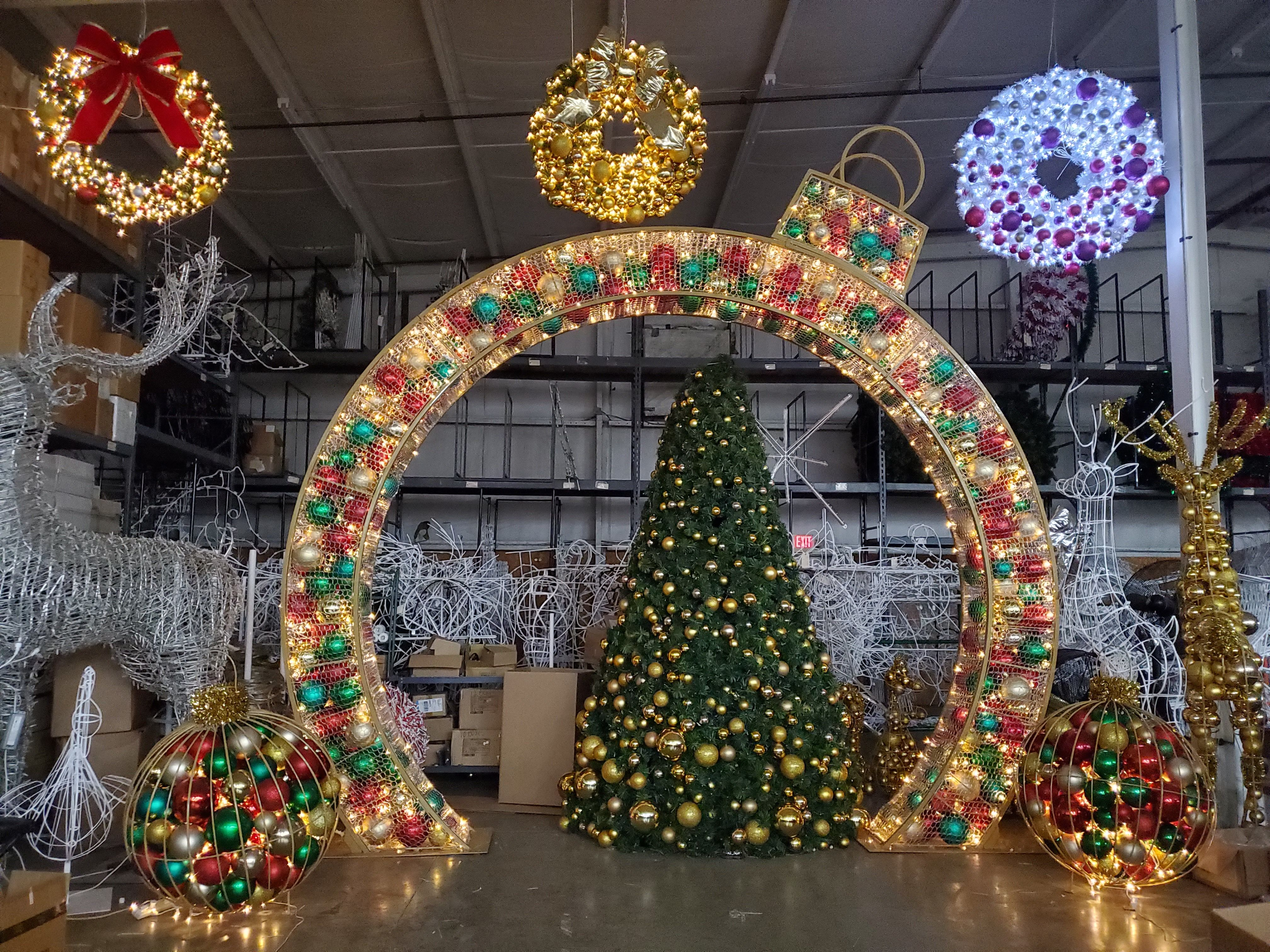 Outdoor Commercial Christmas Decorations Temple Display Ltd Commercial Holiday Decor Commercial Christmas Decorations Outdoor Christmas Light Displays