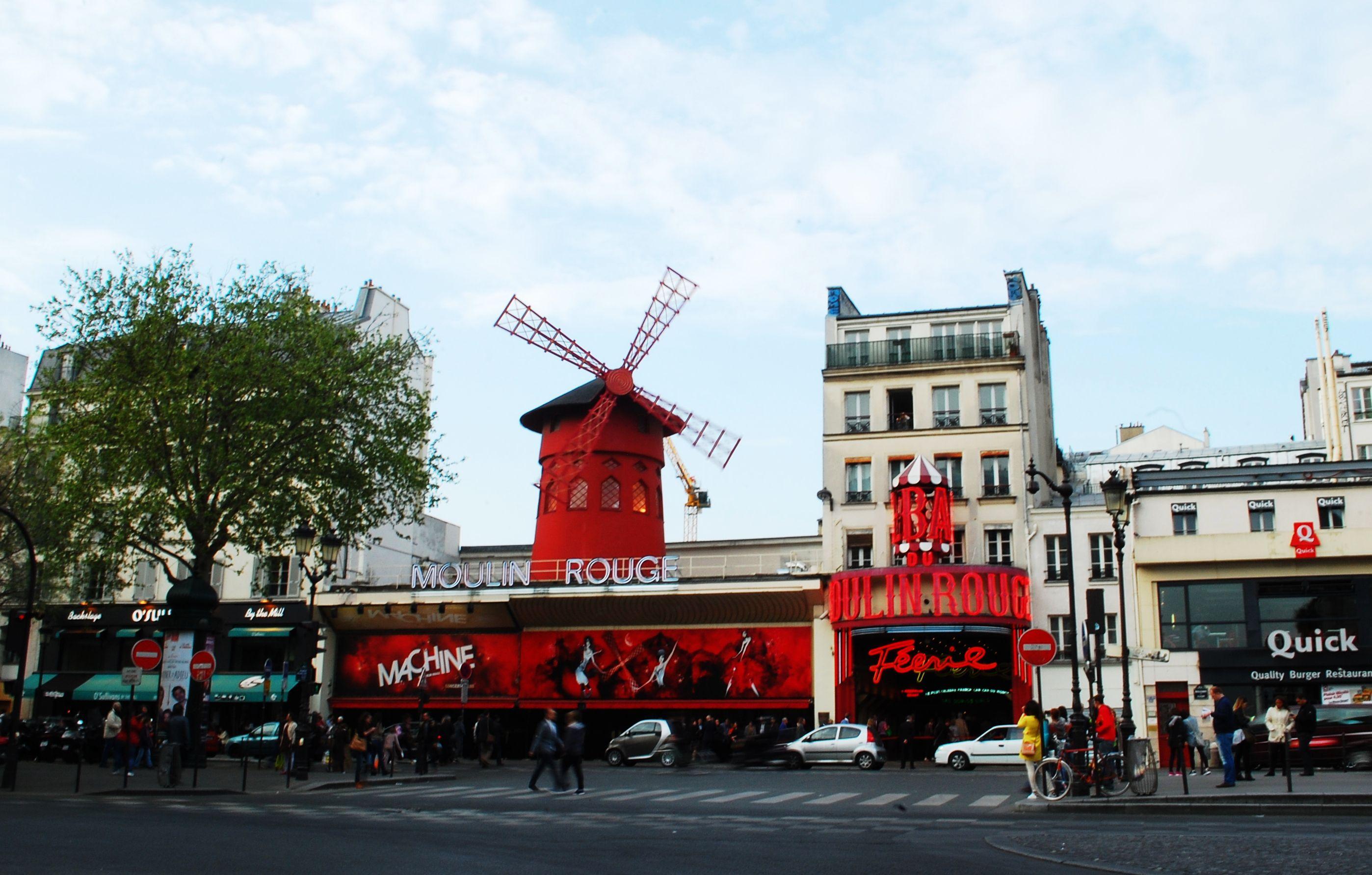 Moulin Rouge Paris France Paryz Ferry Building San Francisco Ferry Building Paris