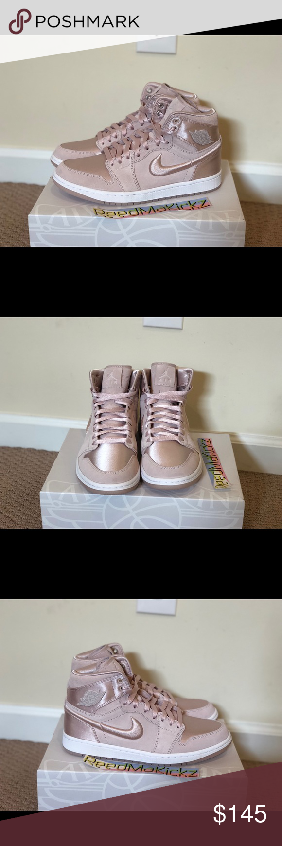 Nike air jordan 1 retro high SOH Silt red womens 100% authentic! No trade  brand new   never worn womens sizes style code AO1847 650 Nike Shoes  Sneakers 256194fe59e5