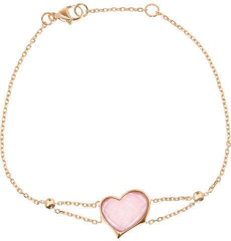 Stephen Webster GOSH 10-karat rose gold crystal bracelet on shopstyle.com