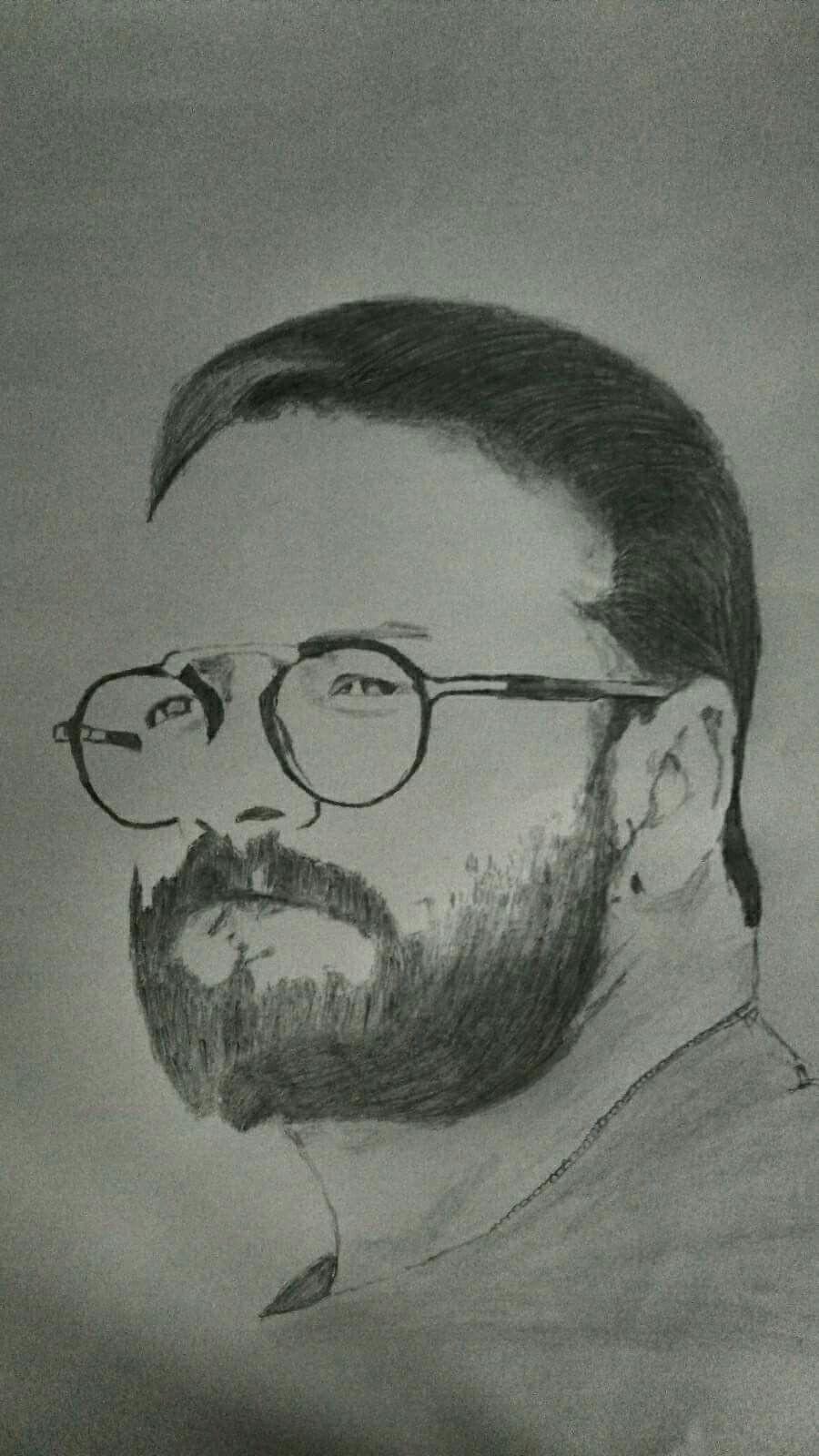 Pencils sketches jayasurya actor