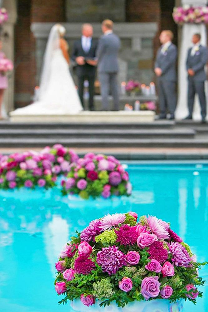 21 Wedding Pool Party Decoration Ideas For Your Backyard Wedding