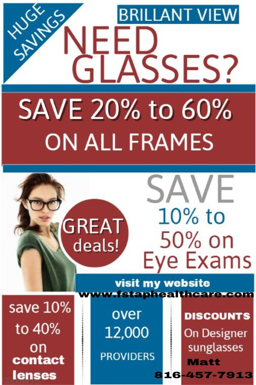 Save On Your Vision Cost With Ameriplan We Have Vision
