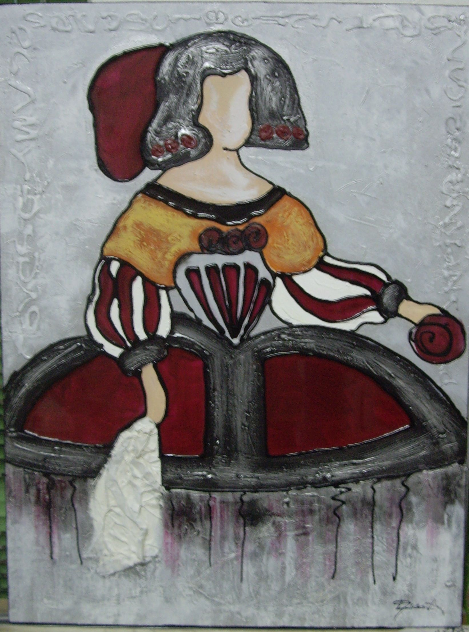 Cuadro menina meninas art pintura y picasso - Cuadros de meninas ...