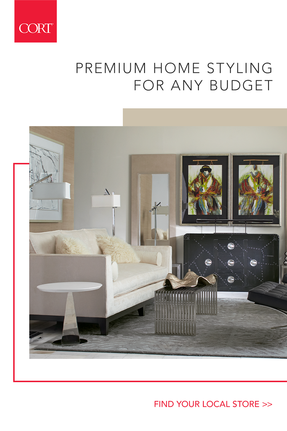 With Cort You Ll Always Find Affordable High End Goods Paired With Exceptional Customer Service Visit Interior Design Living Room Interior Design Home Decor
