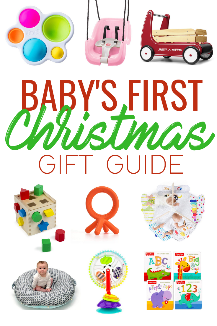 557e9df39f74 Baby s First Christmas  holiday gift guide on what to buy the littlest  members of your family. A great list of toys that encourage development and  learning ...