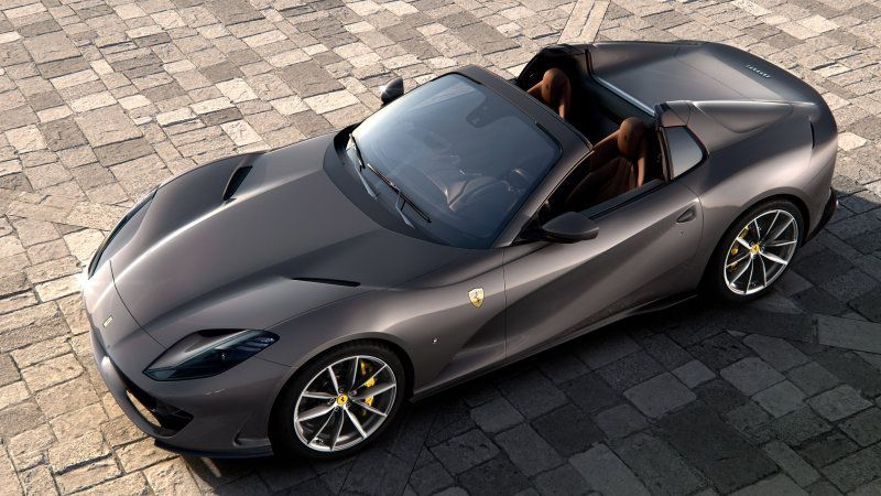 Ferrari 812 Gts Revealed As A Convertible Version Of The 812
