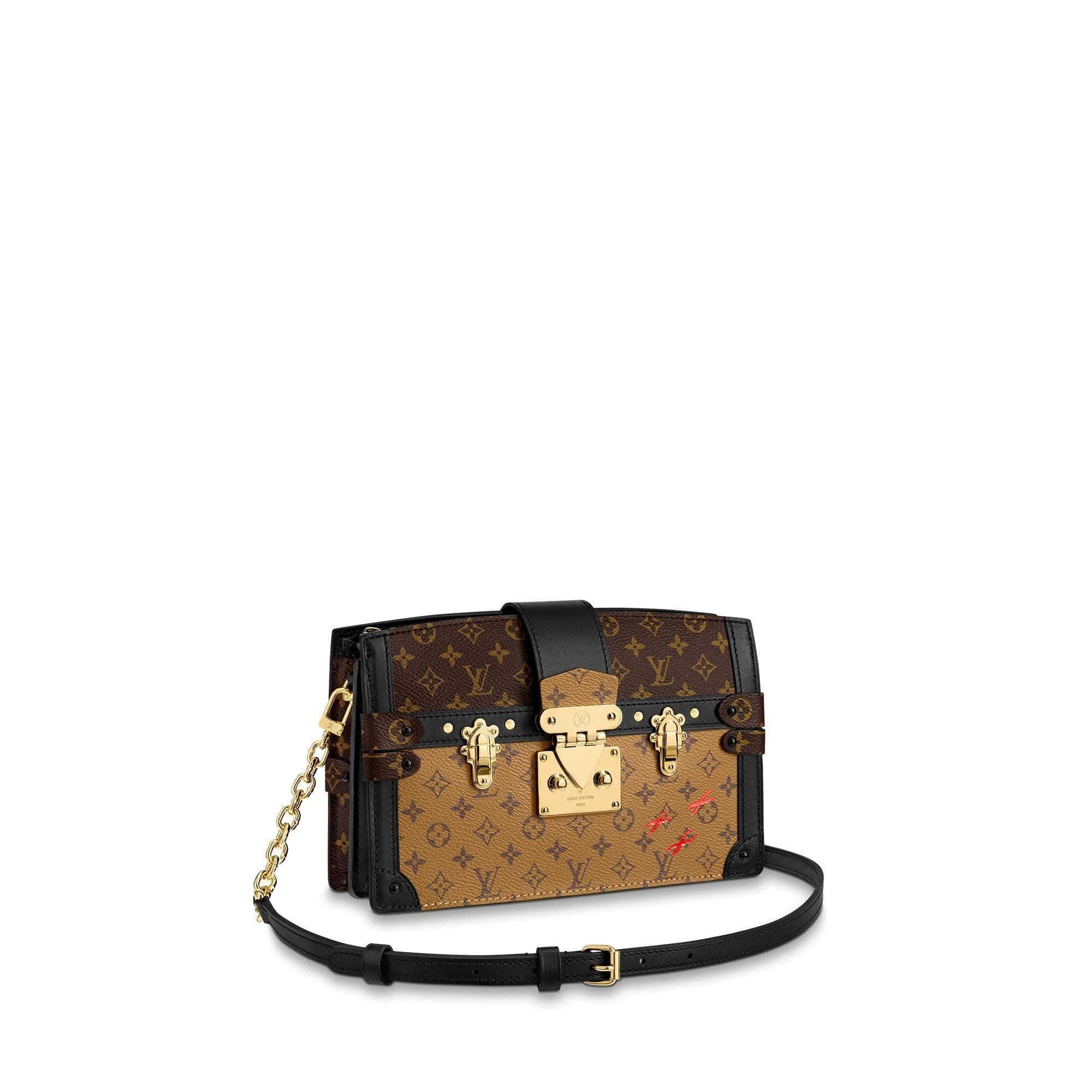 Trunk Clutch With Images Louis Vuitton Trunk Best Leather Wallet Monogram Bag