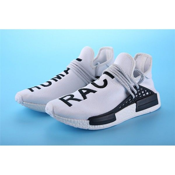1a5a29115 pharrell williams - adidas nmd human race white black