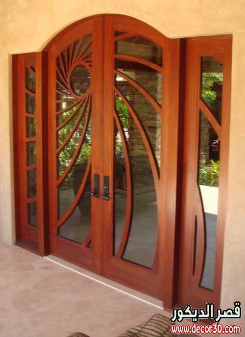 اجدداشكال ابواب الشقق ديكورات ابواب شقق جديده Door Design Modern Front Door Design Door Design