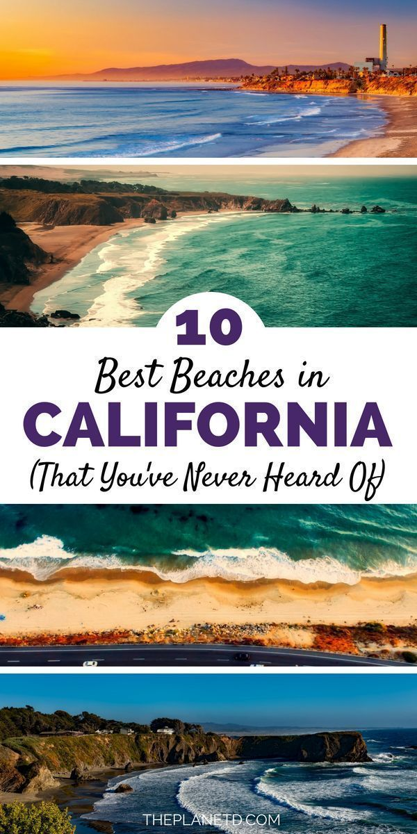 10 of the best beaches you have never heard of in California. Both Northern and Southern California offer some of the best beaches in the world. This vacation destination features huge cliffs in Malibu outside Los Angeles, stunning sunsets along the central coast, and surfing under the Golden Gate Bridge in San Francisco. Travel in California.   Blog by the Planet D