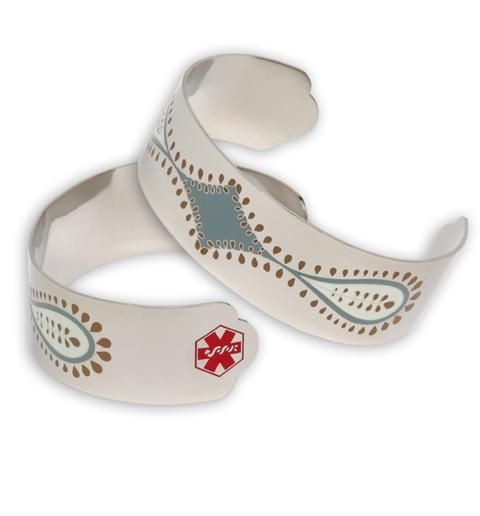 I Don T Wear Any Medical Alert Jewelry Or Even Have A Wallet Card Shame On Me How About Cuff Could Run In This One