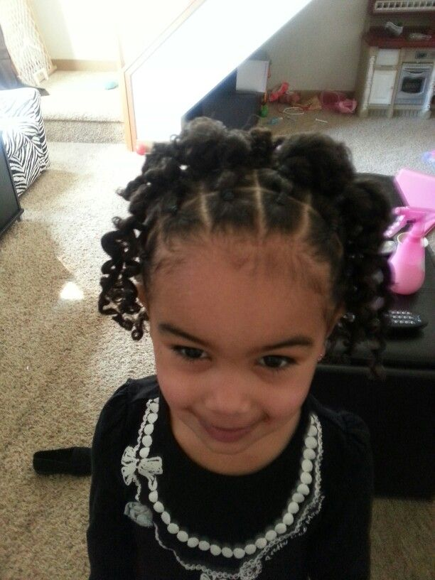 Curly Hairstyle For Toddler : Biracial hair hairstyles. toddler hairstyles curly mixed