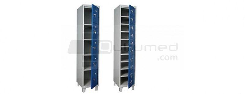 Multidoors, steel locker - Lockers, cupboards, benches - Hospital Clinical Furniture