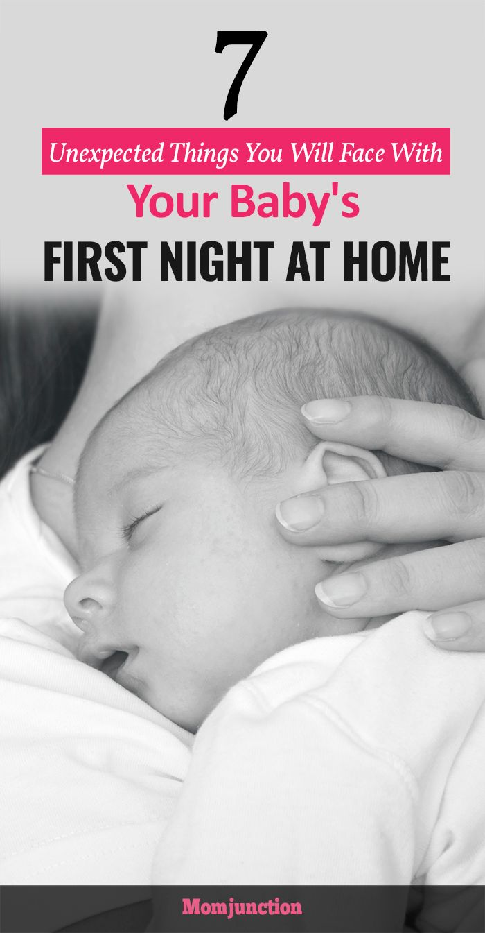 7 Unexpected Things You Will Face With Your Baby\'s First Night at ...