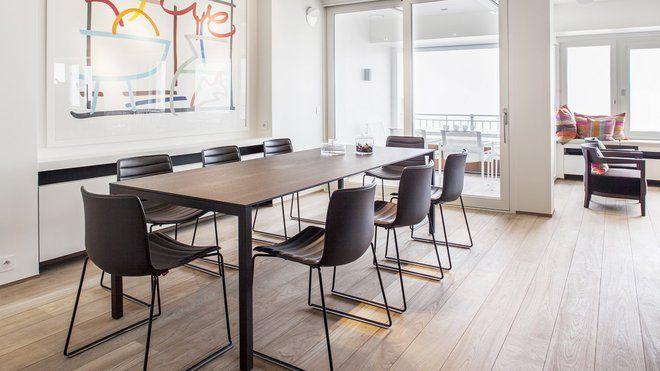 En Belgique, grand angle sur la Mer du Nord - modele de salle a manger design