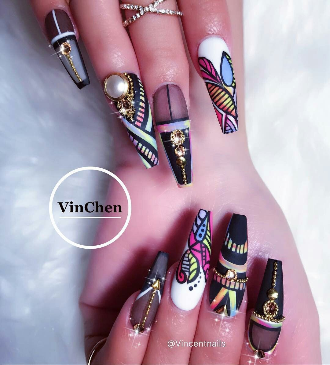 Pinterest @IIIannaIII | Nail designs | Pinterest | Beautiful nail ...