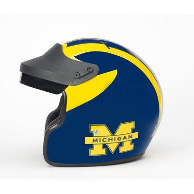 University of #Michigan Scooter Helmet | Mden