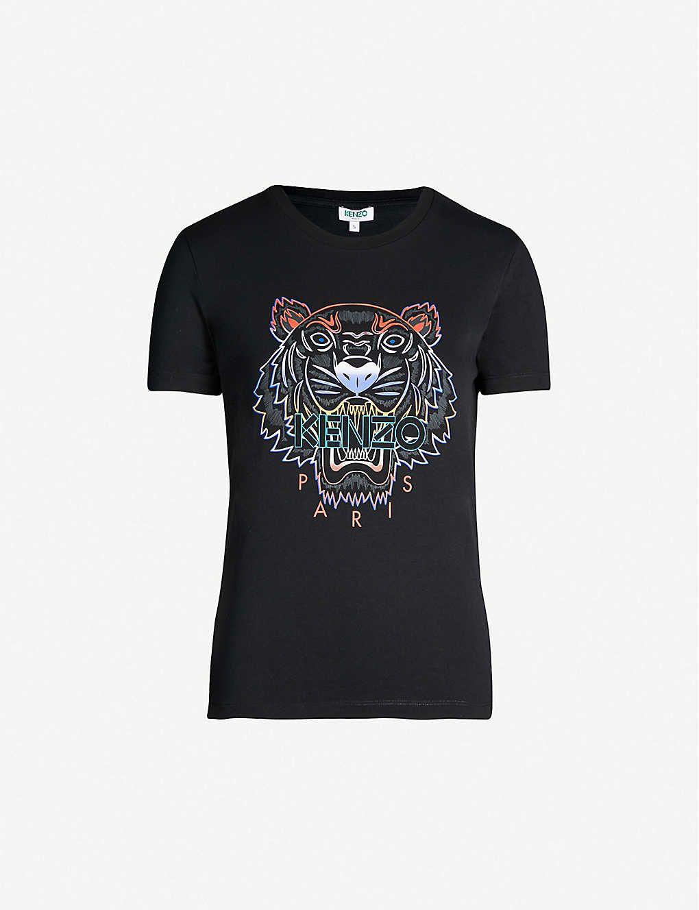 Gradient tiger cotton tshirt cotton tshirt shirts