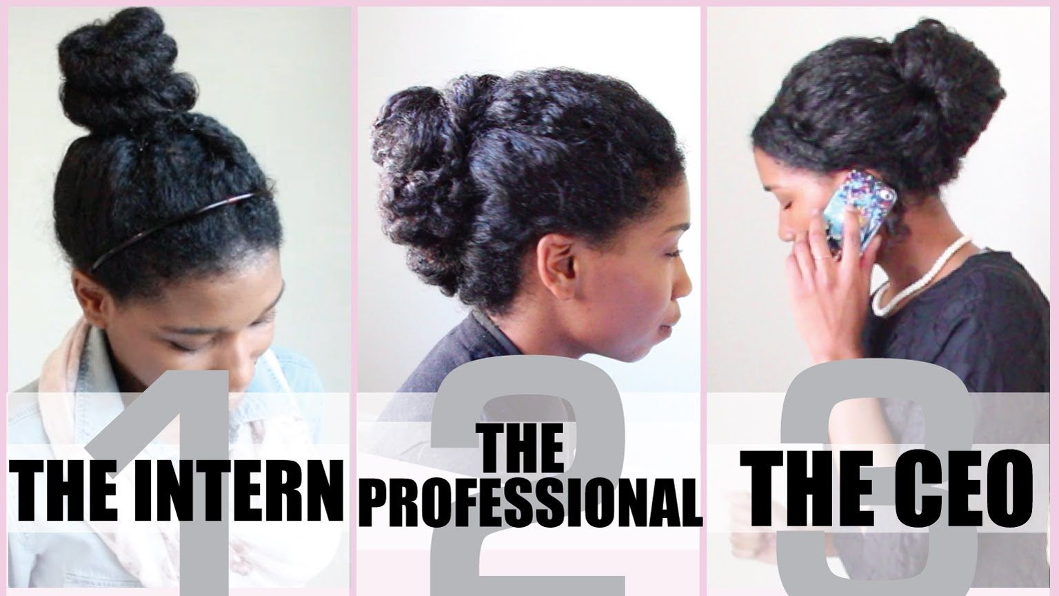 3 No Heat Corporate Protective Styles For Medium Length Natural Hair