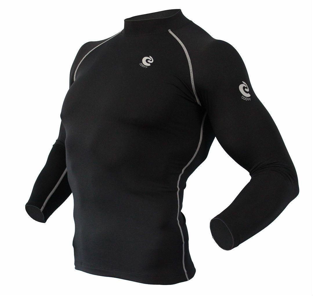 Sub Sports Cold Mens Compression Shorts Black Thermal Base Layer Short Tights