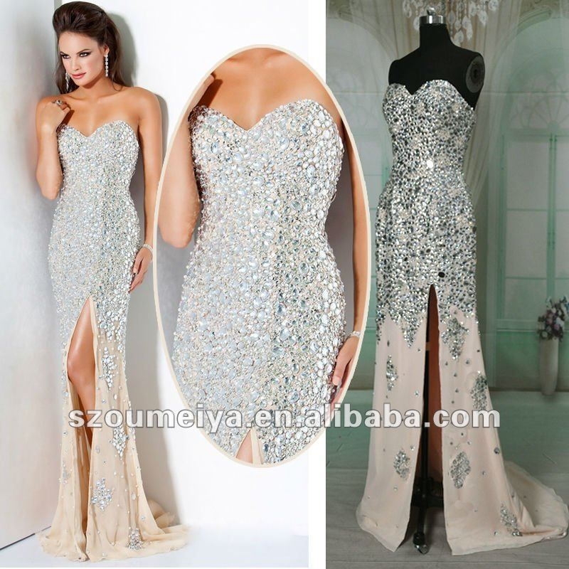 0 buy 1 product on mermaid style for Wedding style prom dresses