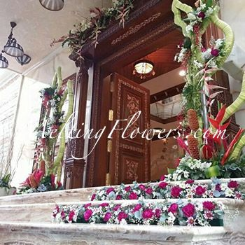 House Warming Flower Decoration Ideas By Melting Flowers We Also Provide House Decoration For Engagement Wedding Ceremonies As Per Client S Requirements